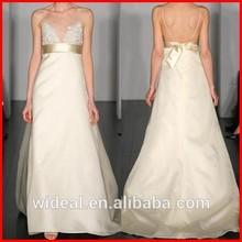 2015 New Style White Lace Wedding Dress Bride Dress