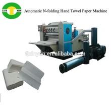 Automatic 3-fold towel paper folding machine