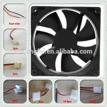 4000rpm 92x92x25mm computer fan 3pin 24v 90mm small waterproof fan