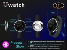 uu bluetooth smart watch phone with camera burglar alarm smart watch with pedometer