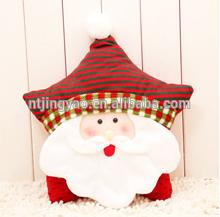 Christmas pillow,striated throw pillow