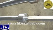 Hardened chrome finished Olympic weightlifting bar with premium needle bearing