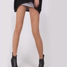 G084 big yards lanky waist suede cotton lycra leggings