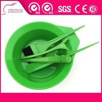 salon product plastic disposable hair dye kit