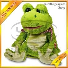 stuffed plush toy animals custom plush frog for girl