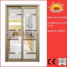 Aluminum glass sliding door with new design SC-AAD017