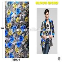 digital printing 75D chiffon clothes materials for making clothes