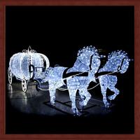 2014 new year decoration christmas decoration light horse motif light
