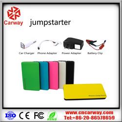 car jump starter power bank 4500 mah power supply