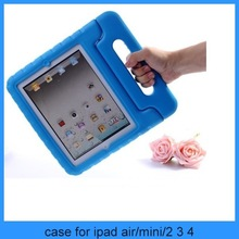 case for ipad Kids Rugged Proof Thick Foam Case w/ Handle Stand for iPad 4 3 2 Mini Air(PT-IP206)