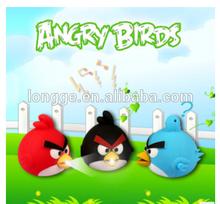 Angry bird LED light keychain MINI LED &Sound keychain