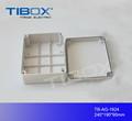 Bella, di alta qualità, copertura grigio in plastica abs interruttore scatola elettrica punti vendita box piano