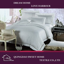 White Color Bed Sheet Set Bedding Sets Wholesale
