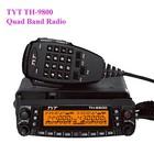 VU/ VV/ UU Dual Band Mobile Radio TYT TH-9800 Cheap Multi Band Car Radio Receivers