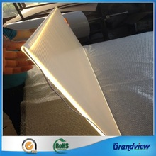 3d v-cutting 4mm acrylic led light guide panel with best effect