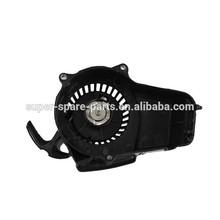 MINI POCKET DIRT BIKE ATV black plastic 2 stroke 49cc Engine Pull Start