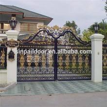Wrought iron door main gate/ gate grill design