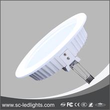 Modern Cri 80 led downlight 12w/ led downlight heatsink,Round Led Downlight kit Housing