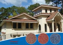 Fashionable design korea tile villa stone tile zinc roof tiles