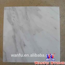 Good Quality Natural Bianco Carrara Polished White Marble Tile
