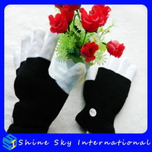 Customized Antique Hot Sale Flashing Halloween Gloves