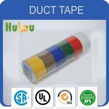 Self adhesive Duct tape PE coating UV resistant