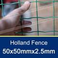 50x50mm/2mx2.5mm proteção grama cerca holland