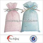 Small advertising drawstring fancy gift pouches
