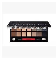 Beauty Resource 14 colors smashbox palette eyeshadow shimmer mineral mix-colors smashbox eyeshadow