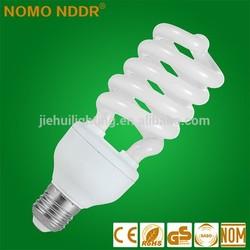 Factory Price 40W Half Spiral Energy Saving Light Bulb