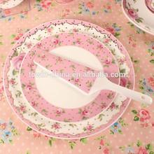 magnesia porcelain cake plates