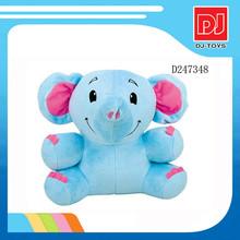 Bule stuffed animal plush elephant funny cartoon dolls for kids D247348