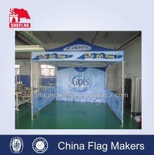 custom printing canopy tent with optional wall, strong tent frame to resist wind