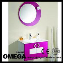 Bottom price hot sale solid wood bathroom vanity side ark
