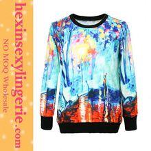 Super Deal 2015 Print chest pocket mens sweatshirt