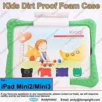 Shock-Absorbing for Baby Thick EVA Foam Case with Stand for iPad Mini/Mini 2/Mini 3,Kids EVA Foam Handle Anti Shock Cases