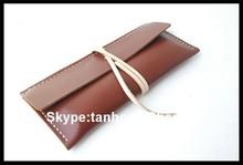 leather pen case,pens with pencil case,calf pen