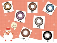 2014 Hot Party Halloween Cosplay Christmas Contact Lens,Christmas decorations