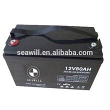 AGM Lead acid battery UPS battery 12v 80Ah for UPS back up