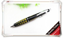 TM-03 new style promotional fat metal pen , feature silicone ball pen, gift pen