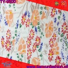 low price wholesale market floral design 100% quilting cotton tartan fabric