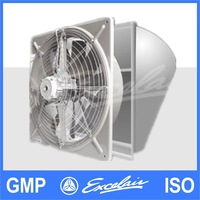 Excelair Wall Mount exhaust fan Window mount Extractor Fan industrial extractor fans