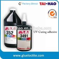3491 LCD repair optical UV glue doming resin glue transparent crystal bonding metal glass glue metal bonding