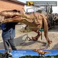 Meine dino- Kinder Vergnügungspark künstlichen grünen dinosaurier-maskottchen kostüme