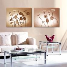 abstract sunflower modern digital printing canvas art