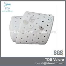 white die cut industrial strength sticky back velcro dot