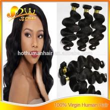 Christmas gift fast dhl shipment last for 3-4 years wave 100% virgin raw cheap brazilian hair weave