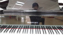 Distinct modern stylish 61 digital piano