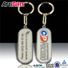 Good quality metal custom brand logo key chain