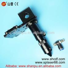 high quality CO2 laser cutting head adjustable for laser focus lens 20mm